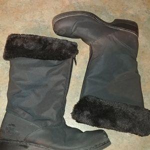Totes  Cynthia Convertible Nylon Weather Boots